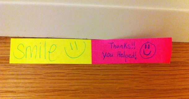 14 Hilarious, Crazy, And Wonderful Notes Found On College Campuses